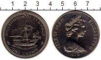 Изображение Монеты Великобритания Остров Мэн 1 крона 1979 Медно-никель UNC-