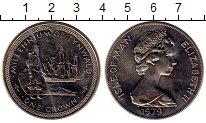 Изображение Монеты Остров Мэн 1 крона 1979 Медно-никель UNC- 1000-летие Тинвальда