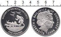 Изображение Монеты Великобритания Гернси 5 фунтов 2008 Серебро Proof
