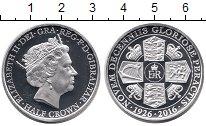 Изображение Монеты Великобритания Гибралтар 1/2 кроны 2016 Серебро Proof