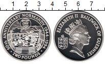 Изображение Монеты Гернси 2 фунта 1994 Серебро Proof