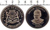 Изображение Монеты Сомали 25 шиллингов 2000 Медно-никель UNC