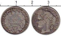 Изображение Монеты Франция 50 сантим 1882 Серебро XF-
