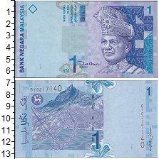Изображение Банкноты Малайзия 1 рингит 2000  UNC