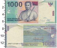 Изображение Банкноты Индонезия 1000 рупий 2000  UNC