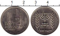Изображение Монеты Азия Израиль 1/2 лиры 1971 Медно-никель XF