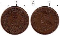Изображение Монеты Азия Индия 1/12 анны 1936 Бронза XF