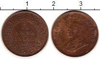 Изображение Монеты Индия 1/12 анны 1912 Бронза XF Георг V