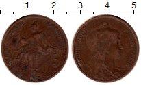 Изображение Монеты Франция 5 сантим 1912 Бронза XF-