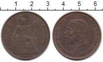 Изображение Монеты Великобритания 1 пенни 1928 Бронза XF
