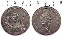 Изображение Монеты Гернси 5 фунтов 1995 Медно-никель UNC-