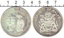 Изображение Монеты Африка Малави 20 квач 1997 Серебро Proof-