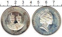 Изображение Монеты Великобритания Бермудские острова 1 доллар 1996 Серебро Proof-