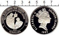 Изображение Монеты Австралия и Океания Соломоновы острова 10 долларов 1995 Серебро Proof-