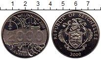 Изображение Монеты Сейшелы 5 рупий 2000 Медно-никель UNC