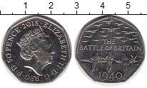Изображение Монеты Европа Великобритания 50 пенсов 2015 Медно-никель UNC