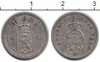 Изображение Монеты Европа Норвегия 10 эре 1889 Серебро XF