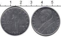 Изображение Монеты Европа Ватикан 100 лир 1958 Медно-никель XF