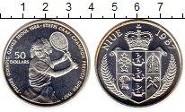 Изображение Монеты Ниуэ 50 долларов 1987 Серебро VF
