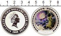 Изображение Монеты Новая Зеландия Острова Кука 2 доллара 2008 Серебро Proof