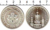 Изображение Монеты Европа Швеция 200 крон 2002 Серебро UNC