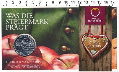 Изображение Подарочные монеты Европа Австрия 10 евро 2012 Серебро UNC