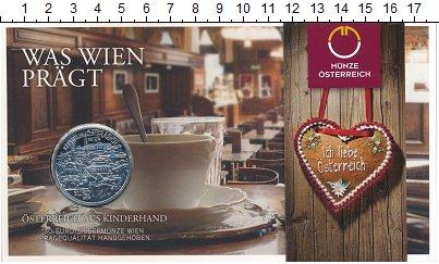 Изображение Подарочные монеты Европа Австрия 10 евро 2015 Серебро UNC