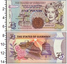 Изображение Банкноты Гернси 5 фунтов 0  UNC