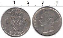Изображение Дешевые монеты Бельгия 1 франк 1980 Медно-никель XF