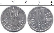 Изображение Дешевые монеты Европа Австрия 10 грош 1983 Алюминий XF