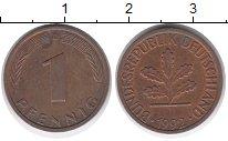 Изображение Дешевые монеты Германия 1 пфенниг 1992