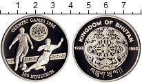 Изображение Монеты Бутан 300 нгултрум 1993 Серебро Proof