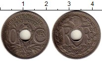 Изображение Монеты Европа Франция 10 сантим 1932 Медно-никель VF