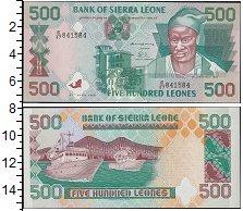 Изображение Банкноты Африка Сьерра-Леоне 500 леоне 1995  UNC