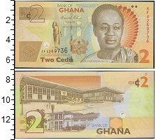 Изображение Банкноты Африка Гана 2 седи 2017  UNC