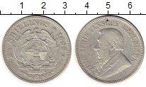 Изображение Монеты Африка ЮАР 2 1/2 шиллинга 1896 Серебро VF+