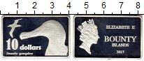 Изображение Монеты Австралия и Океания Новая Зеландия 10 долларов 2017 Посеребрение Proof