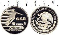 Изображение Монеты Мексика 50 песо 1985 Серебро Proof
