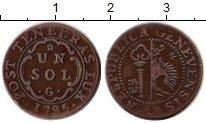 Изображение Монеты Женева 1 соль 1785 Серебро VF