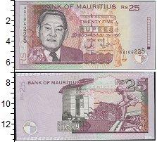 Изображение Банкноты Маврикий 25 рупий 2003  UNC