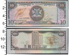 Изображение Банкноты Южная Америка Тринидад и Тобаго 10 долларов 2006  UNC