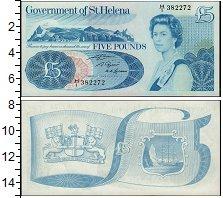 Изображение Банкноты Остров Святой Елены 5 фунтов 1981  UNC
