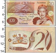 Изображение Банкноты Великобритания Остров Святой Елены 20 фунтов 2012  UNC
