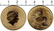 Изображение Мелочь Австралия и Океания Австралия 1 доллар 2014 Латунь UNC