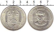 Изображение Монеты Азия Филиппины 1 песо 1964 Серебро UNC-