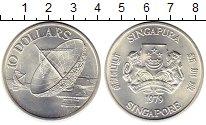 Изображение Монеты Азия Сингапур 10 долларов 1979 Серебро UNC