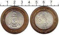 Изображение Монеты Северная Америка Мексика 100 песо 2005 Биметалл UNC-