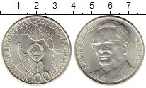 Изображение Монеты Европа Югославия 1000 динар 1980 Серебро UNC-