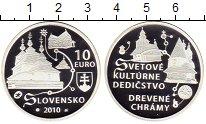 Изображение Монеты Словакия 10 евро 2010 Серебро Proof