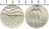 Изображение Монеты Европа Финляндия 25 марок 1978 Серебро UNC-